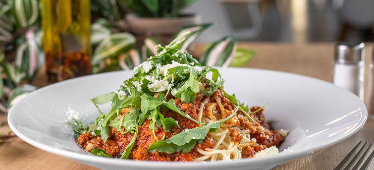 Denne menu spagety